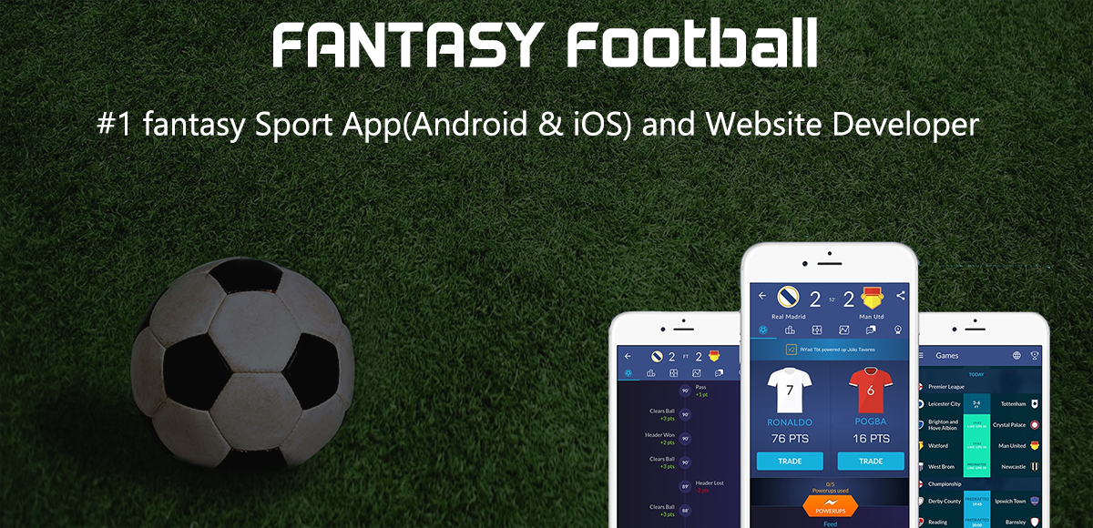 fantasy football website and app develope