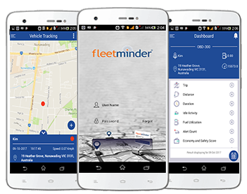 fleet managment android and ios mobile app