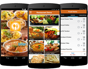 online food ordering application demo
