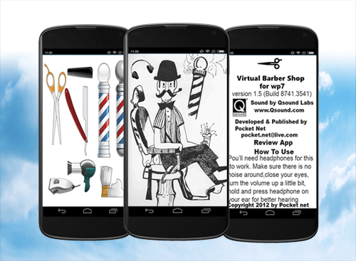 Virtual Barber Shop Mobile App